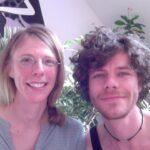 Unsere Mitarbeiter Inga und Christoph