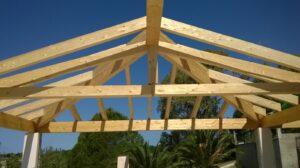 Bauarbeiten auf der Villa KaliMeera