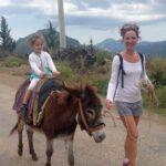 Tanja mit ihrer Tochter in Cirali