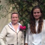Ã?ber uns: Simone (links) und Isabell ergänzen seit Mai unser Team.