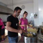 Küchenarbeiten auf Korfu