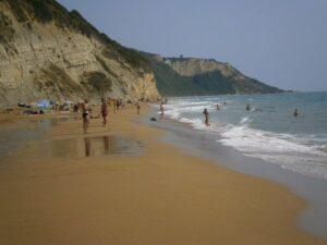 Strände Korfu Sandstrand Marathias