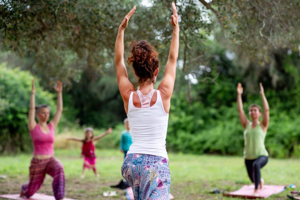 Yoga Honigtal Garten