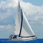 Korfu-Segeln-Familie-Boot