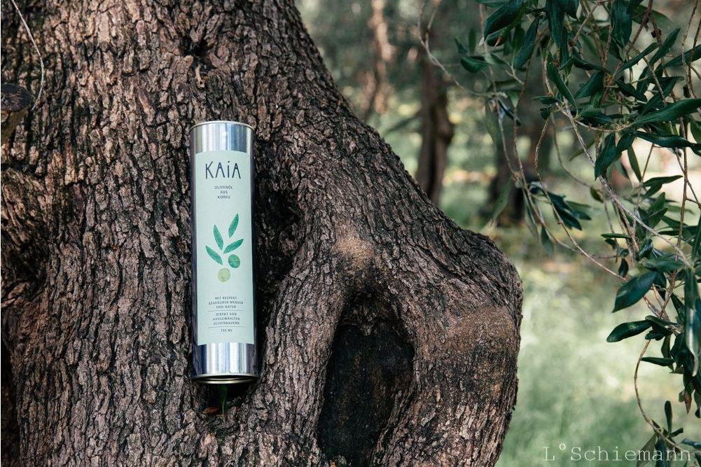KAiA - Das ReNatour-Olivenöl-Projekt, das korfiotische Kleinbauern unterstützt.