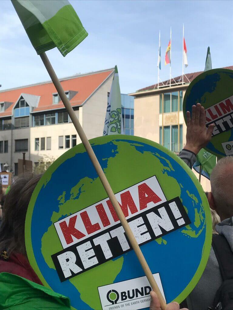 klimastreik fridays for future nuernberg klima retten