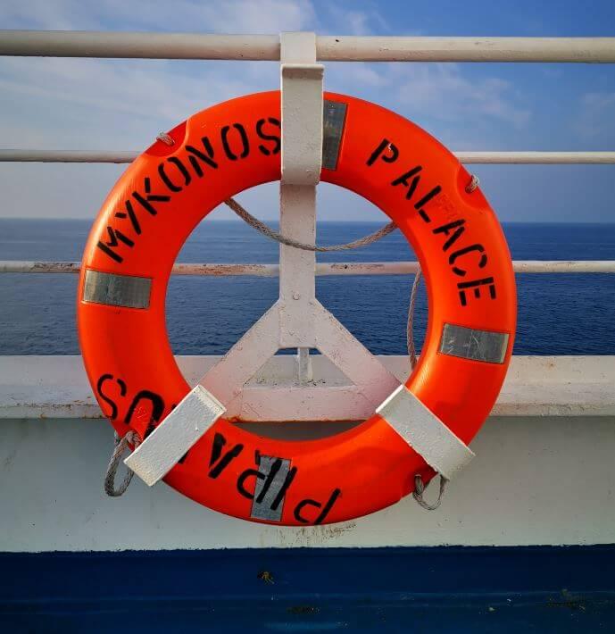 Auf der Fähre nach Korfu/Griechenland