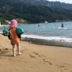 Familienurlaub am Strand des Honigtals auf Korfu