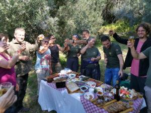 Reise zur Olivenernte auf Korfu