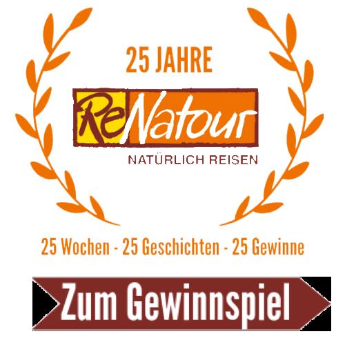 25 Jahre ReNatour Logo