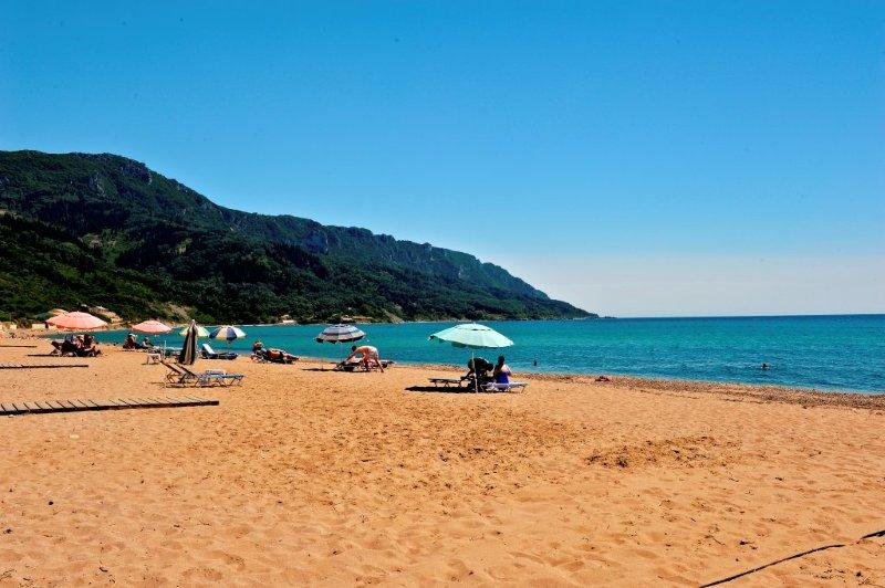 Agios Georgios Pagi sandy Beach