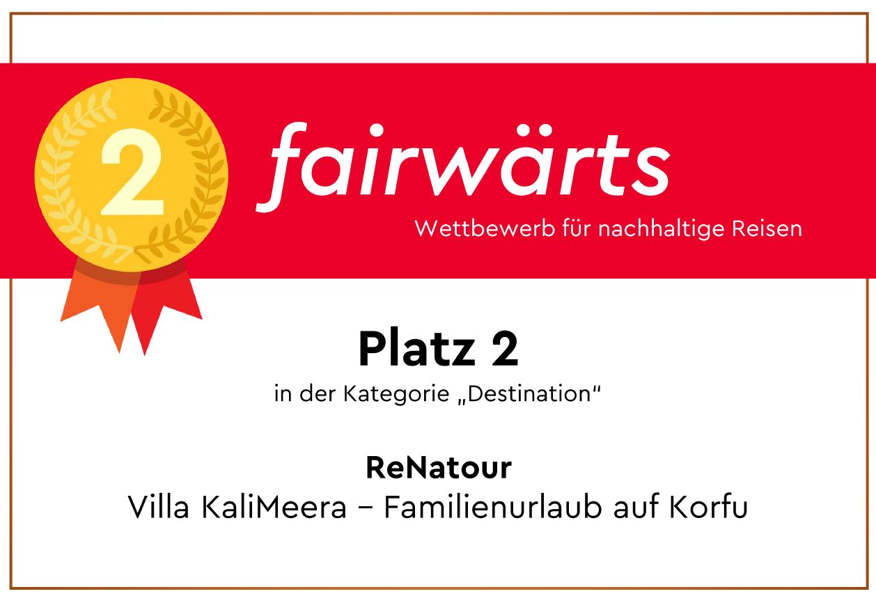 Kleine Gästeanlage mit 13 Wohneinheiten: Ausgezeichnet von fairwärts -  Wettbewerb für nachhaltige Reisen
