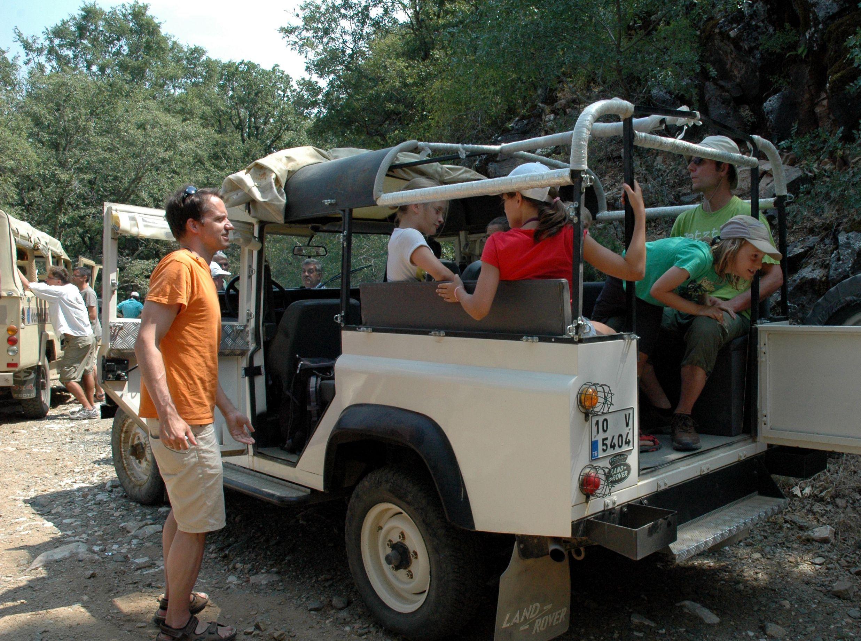 Ausflug in den Nationalpark in der Abenteuerwoche