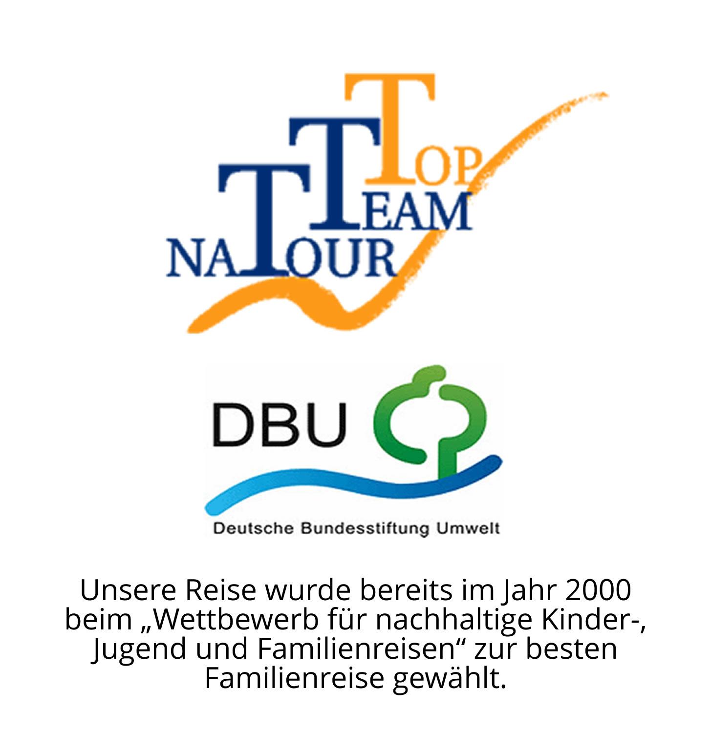 DBU-Auszeichung für die Korfu-Reise von ReNatour